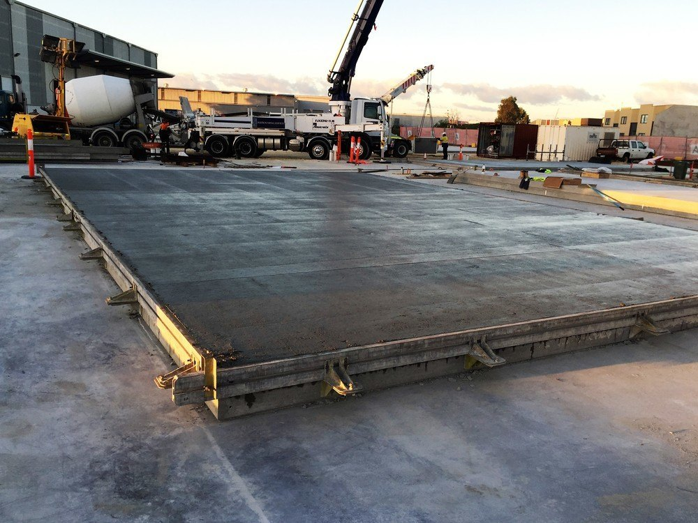 Tilt Up Panels Perth - poured waiting to be finished