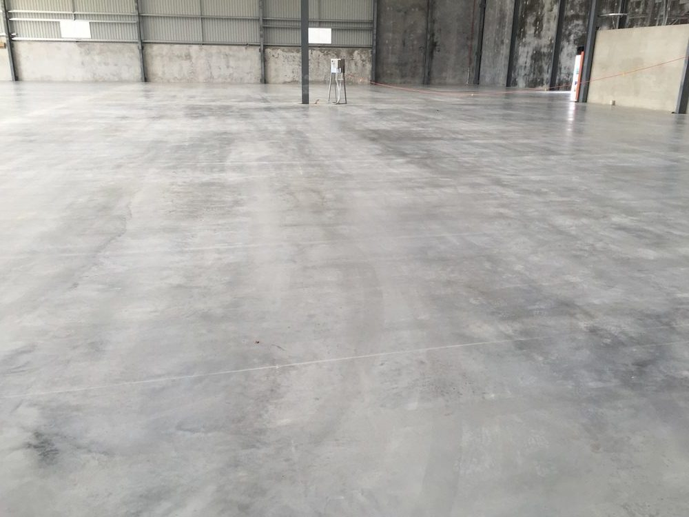 Concrete Placement Perth Warehouse