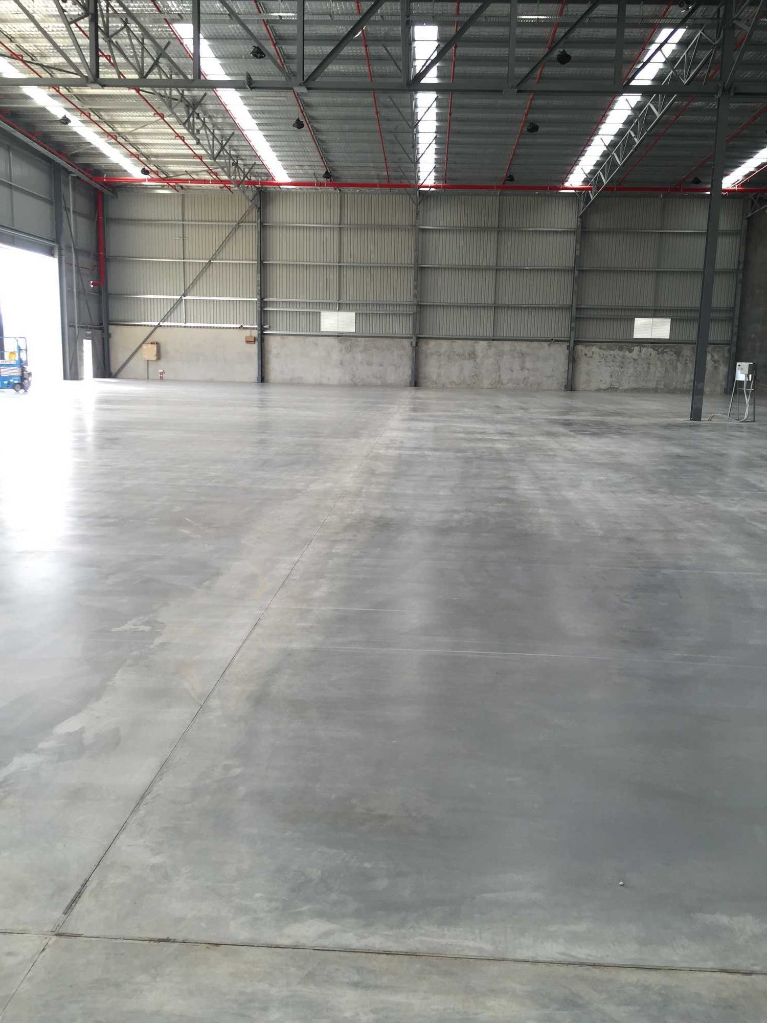 Burnished Concrete Slabs - Hard Wearing Finish